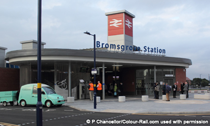 Bromsgrove Station-Colour-Rail