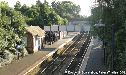 Droitwich Spa station, Peter Whatley, CCL