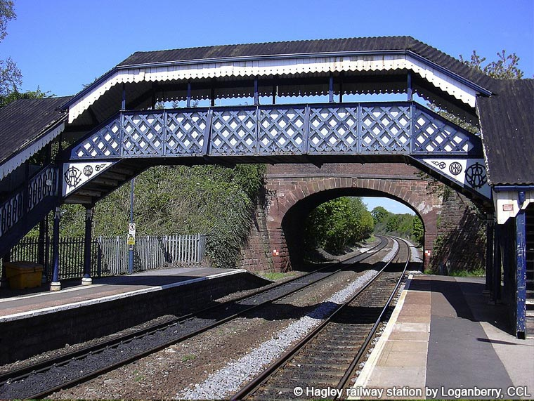 Hagley railway station by Loganberry, CCL