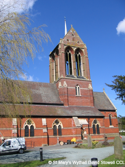 The former church of St Mary Wythall