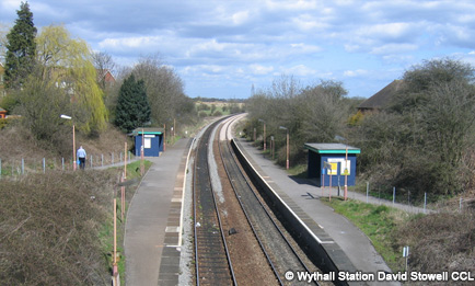 Wythall railway station David Stowell CCL