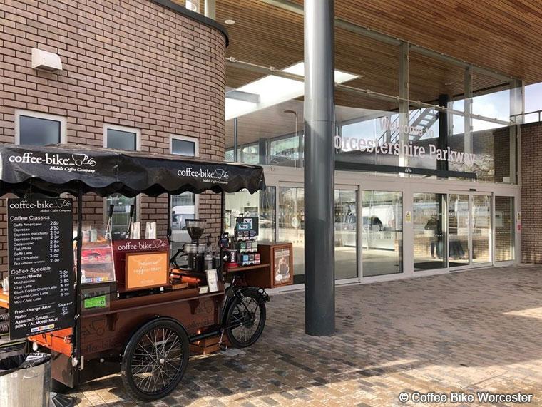 Coffee Bike Worcester Mobile Coffee Company