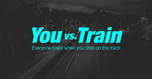 For secondary aged pupils. Watch to find out what happened to Tom. Dan decided to take a short cut to meet his friends.... You vs. Train: Tegan's Story, about a 16 year old who liked to run. You vs. the electrified third rail .