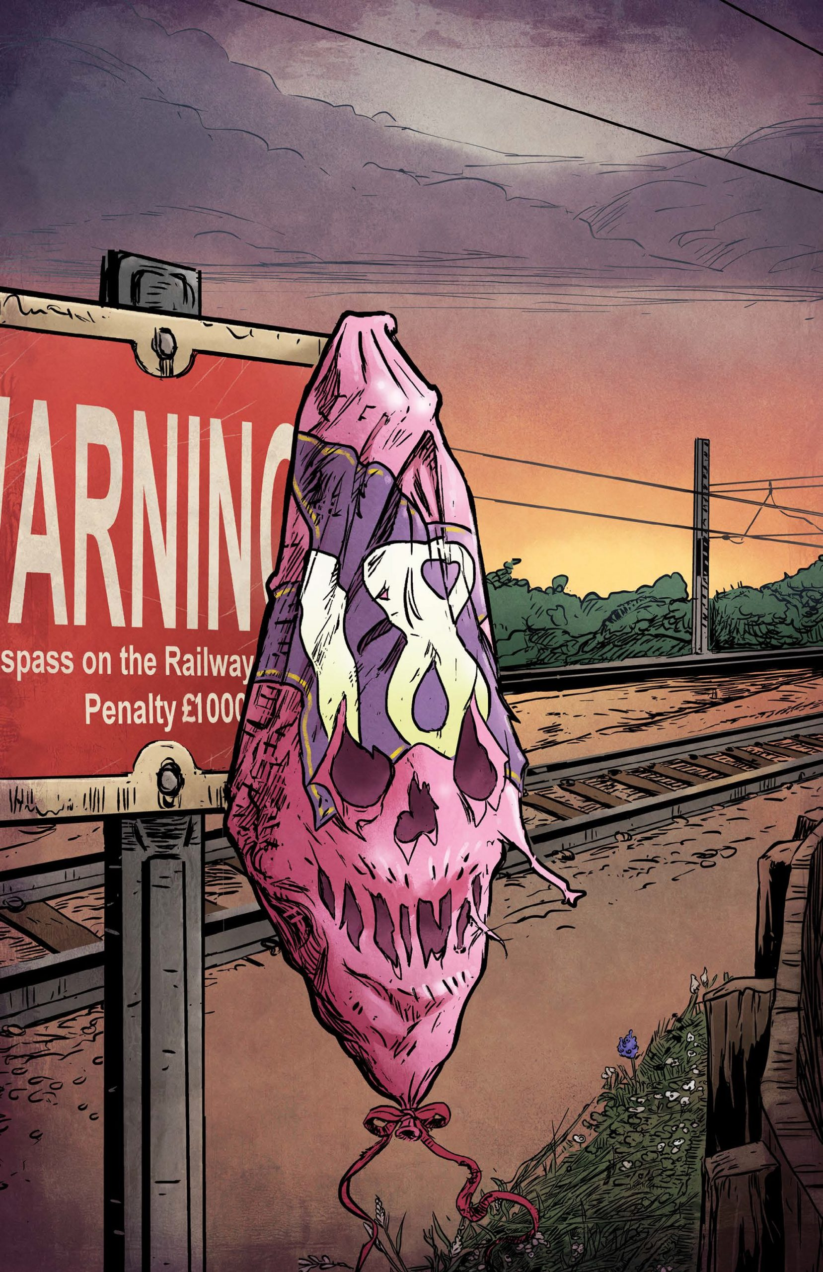 A comic book telling of a central character's 18th birthday, highlighting the dangers of trespassing on electrified railways