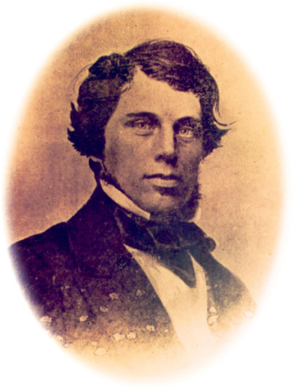 James McConnell, engineer, circa 1860