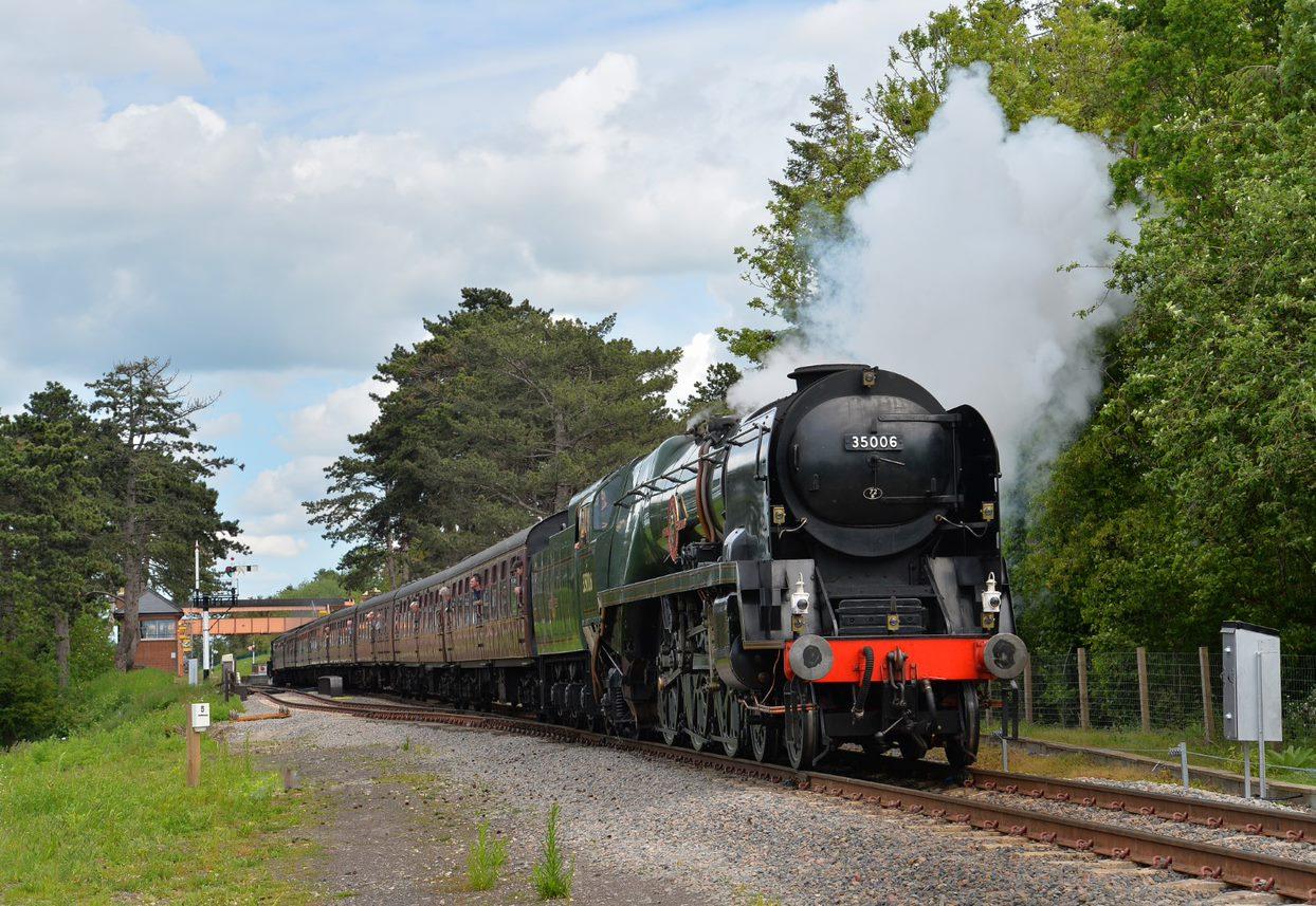GWSR Steam Train