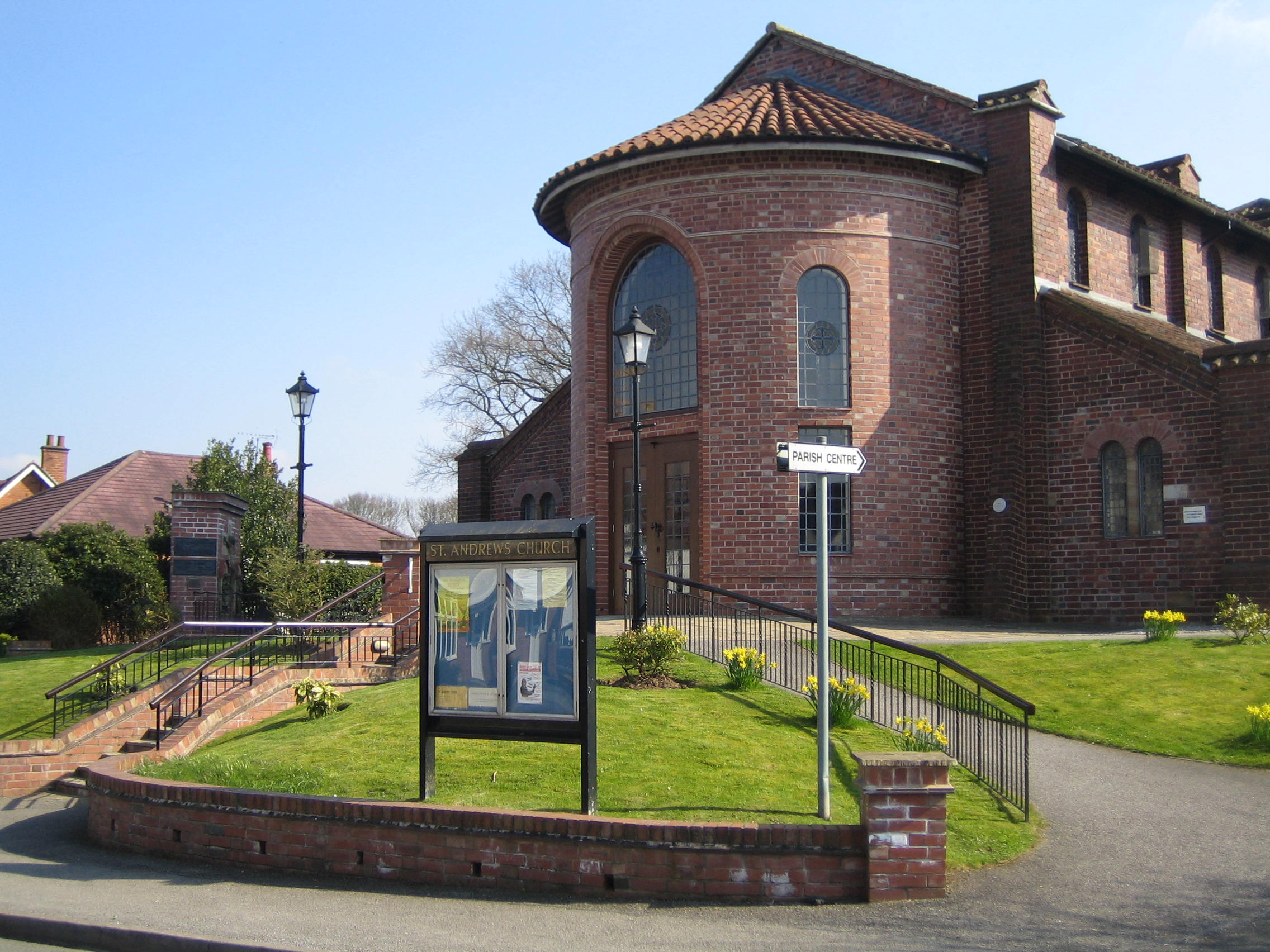 Barnt Green St Andrew's Church