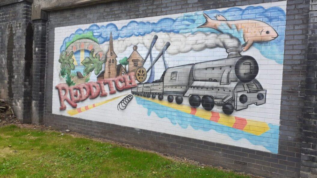 Redditch mural