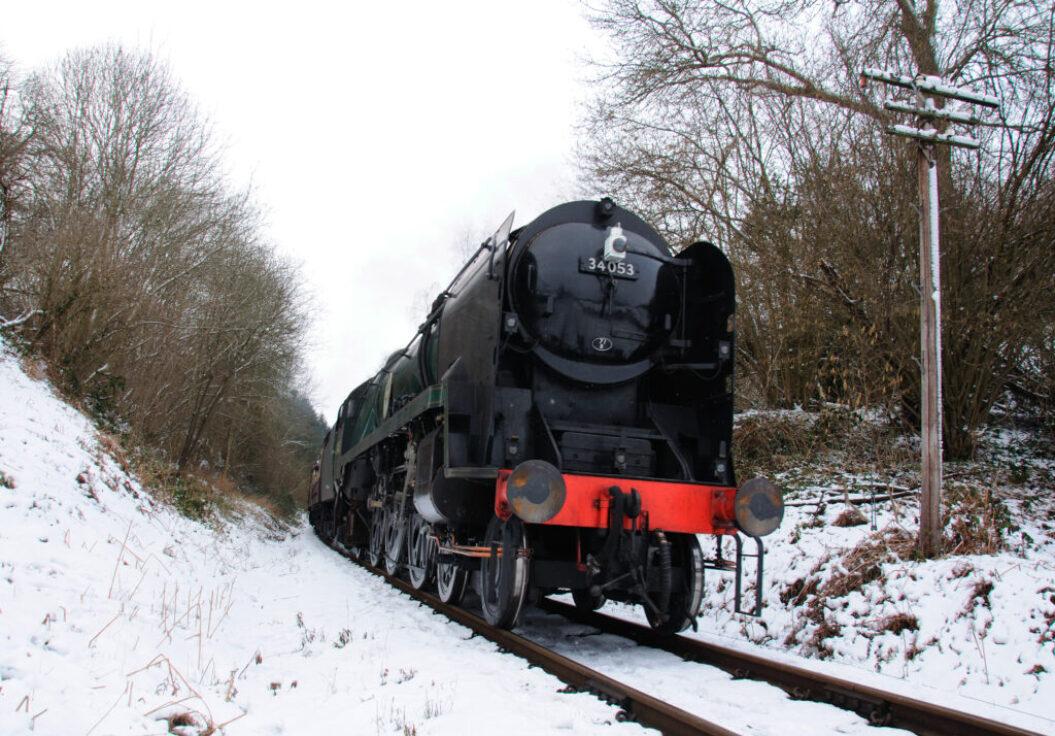 Train 34053 by Lewis Maddox