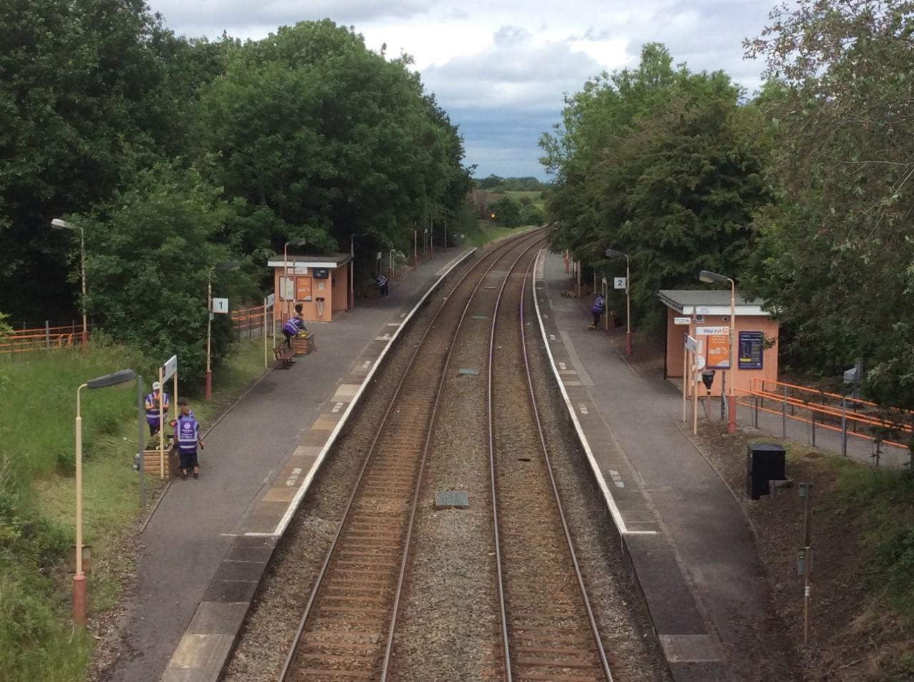 Wythall Station June 2021